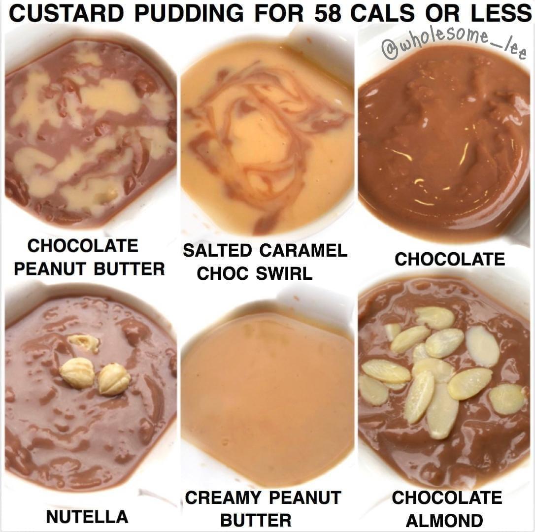 Healthy Custard Pudding