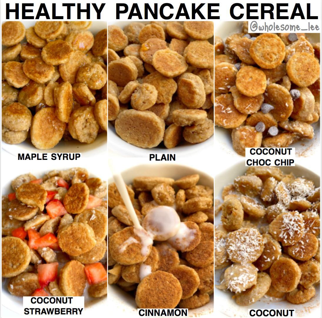Healthy Pancake Cereal
