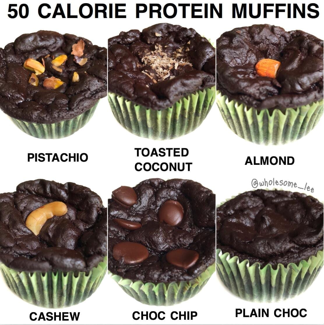 50 Calorie Protein Muffins