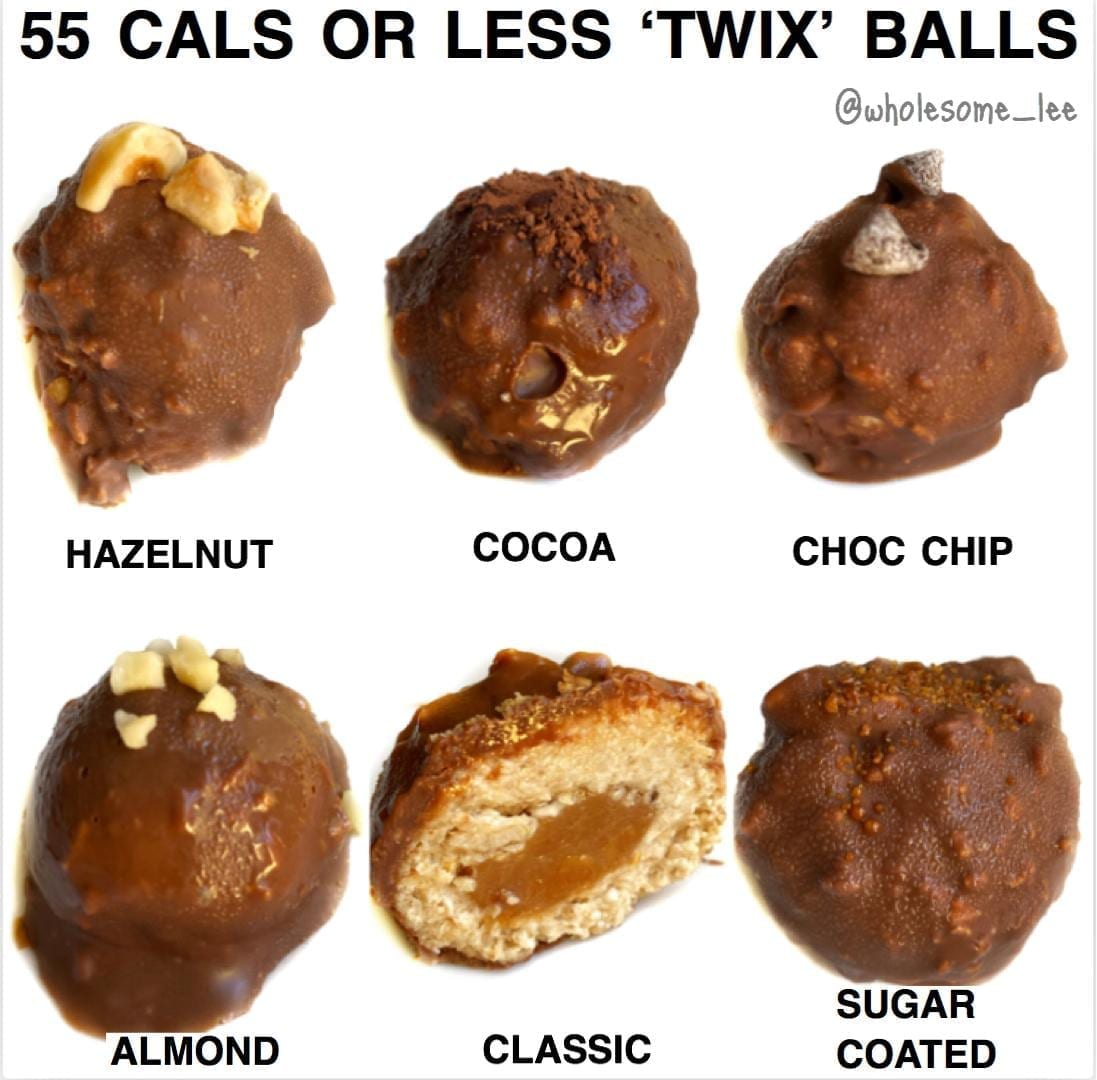 No Bake 'Twix' Balls