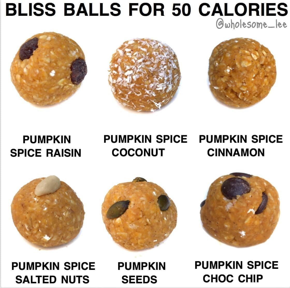 Pumpkin Pie Bliss Balls