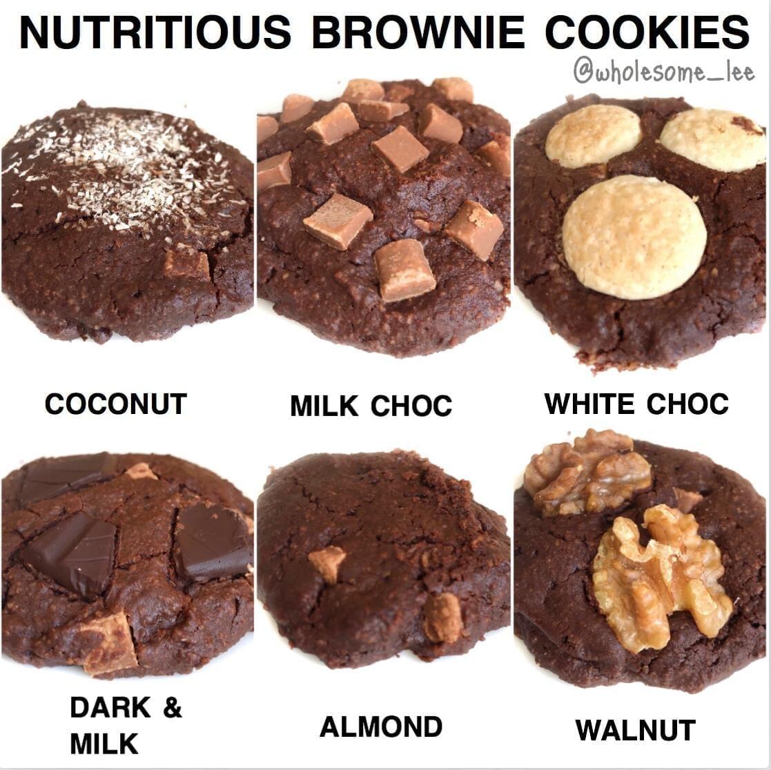 Healthy Brownie Cookies