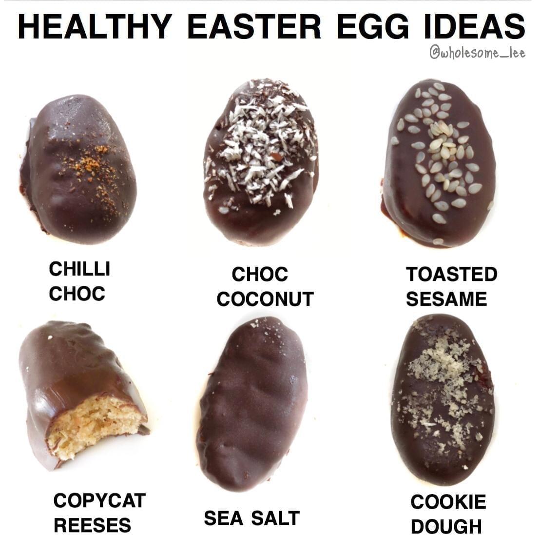 Healthy Easter Egg Ideas