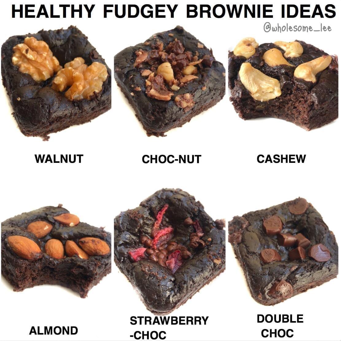 Healthy Fudgey Brownie Ideas