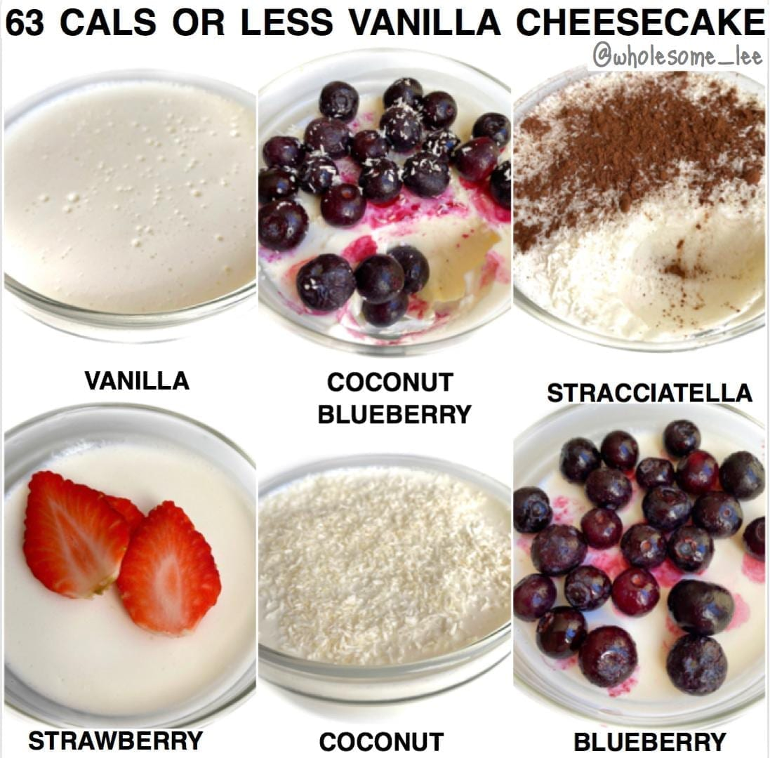 Low Calorie Vanilla Cheesecake