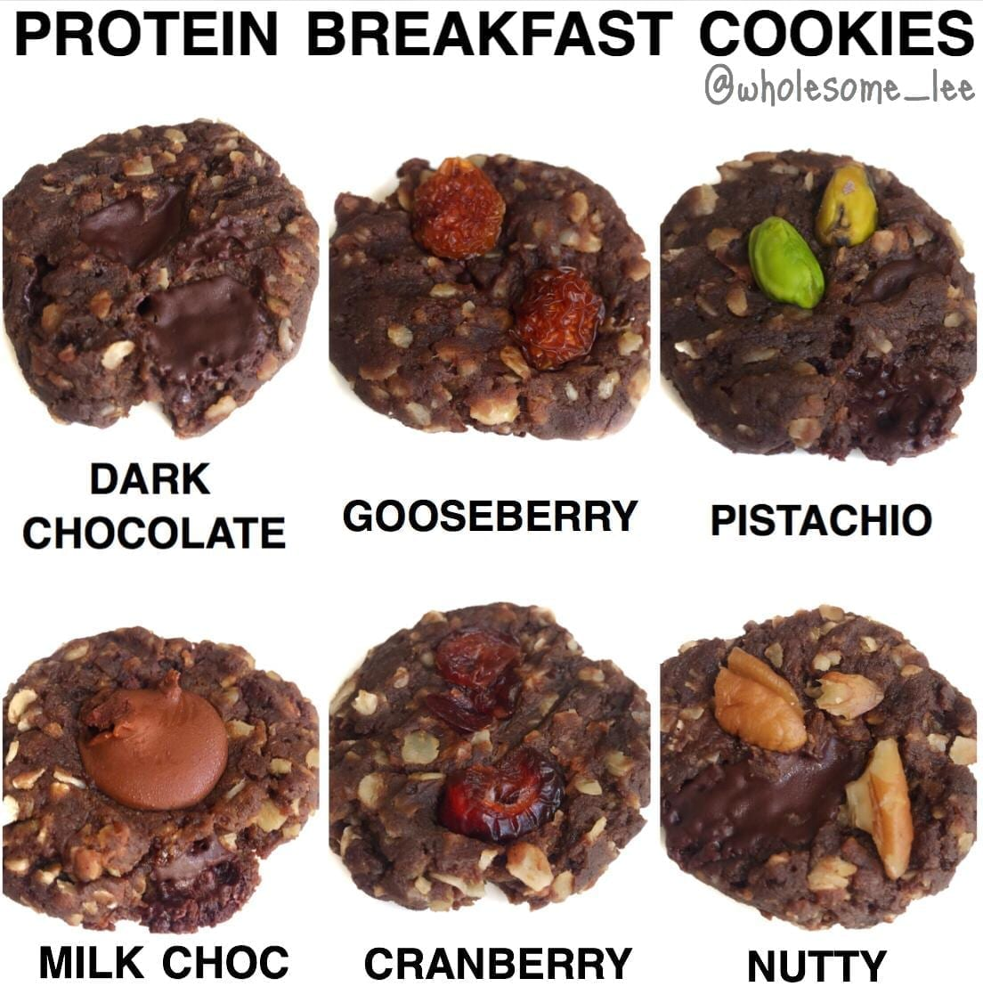 Protein Breakfast Cookies