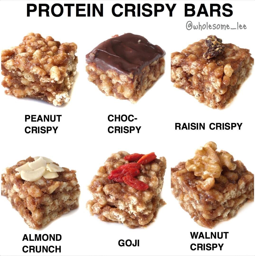 Protein Crispy Bars