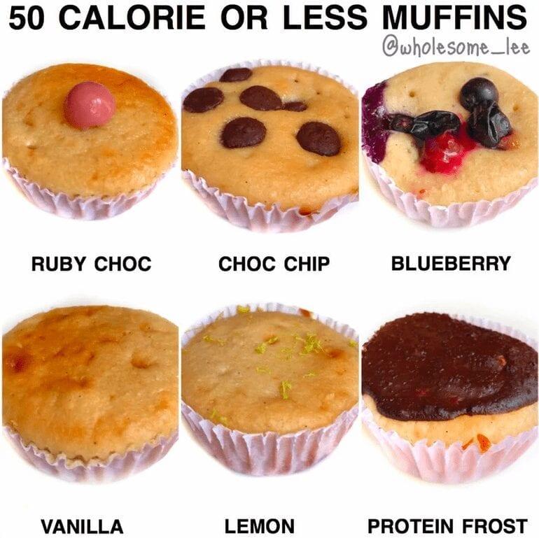 Low Calorie Vanilla Muffins