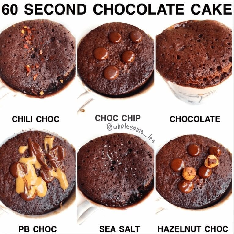 60 Second Chocolate Cake