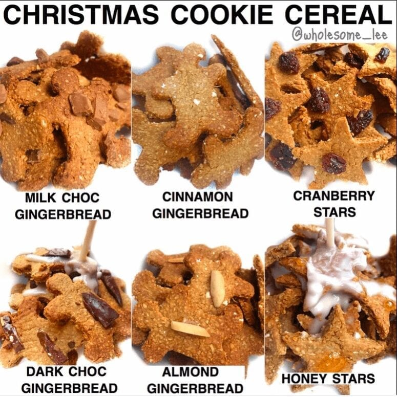 Christmas Cookie Cereal