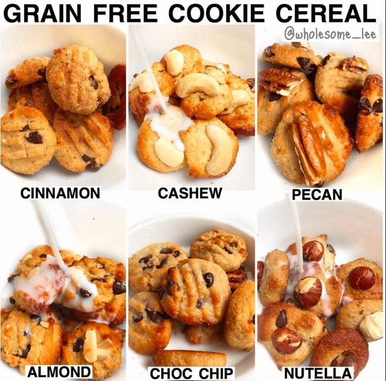 Grain Free Cookie Cereal