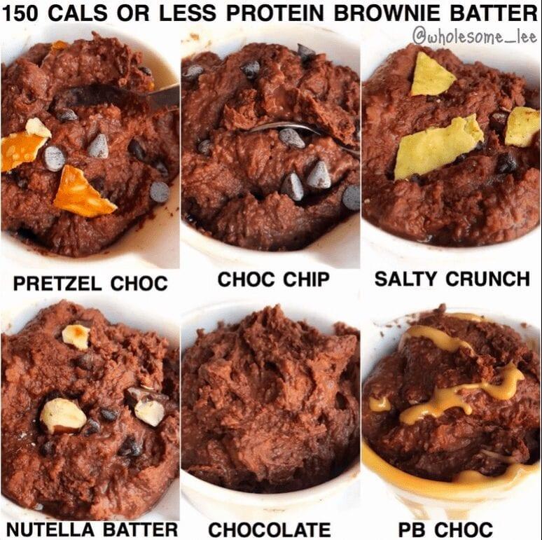 Edible Protein Brownie Batter