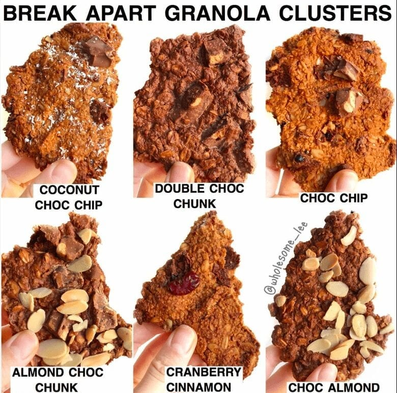 Best Ever Granola Clusters
