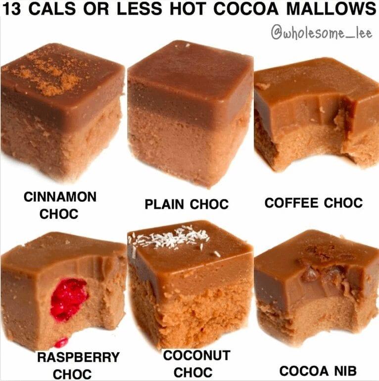 Hot Cocoa Squares