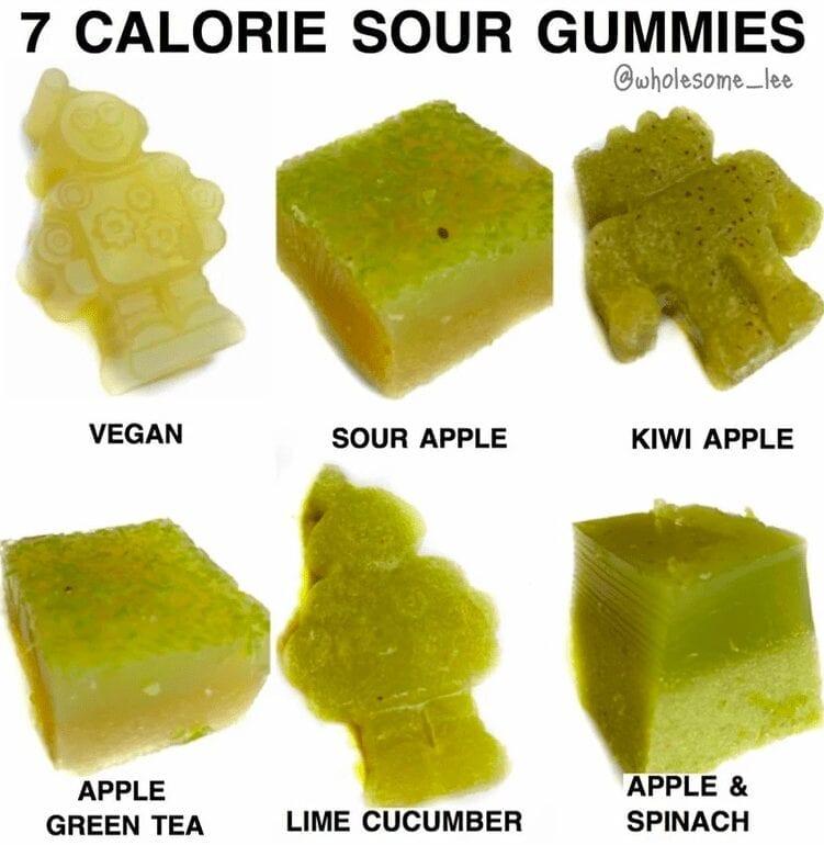 7 Calorie Sour Gummies