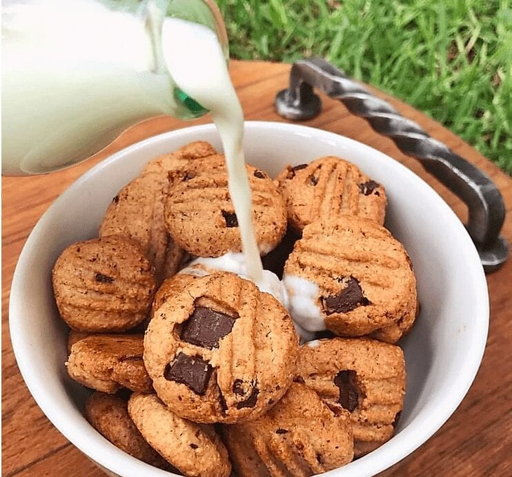 Healthy Chocolate Chip Cookie Cereal