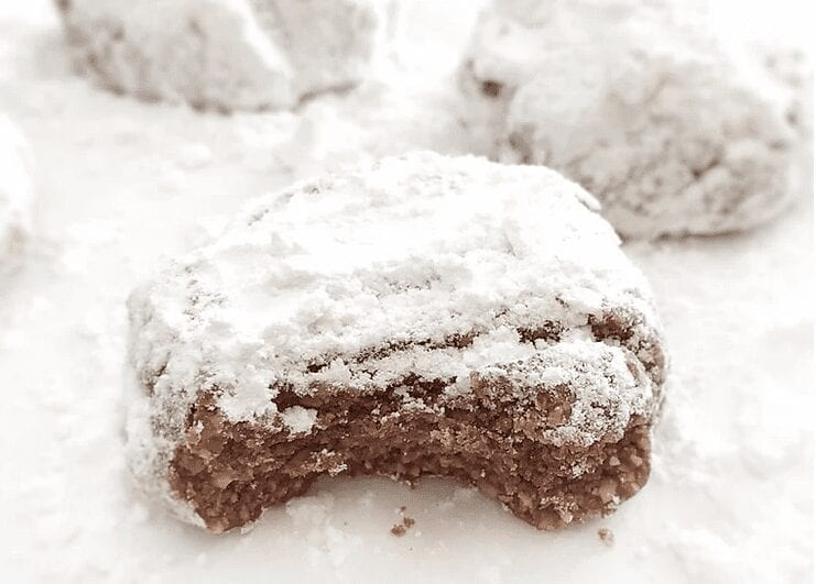 Chocolate Greek Shortbread