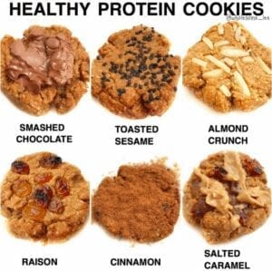 Healthy Protein Cookies
