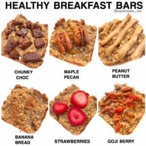 Healthy Breakfast Bars