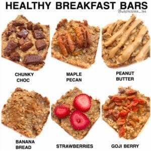 Healthy Breakfast Bars