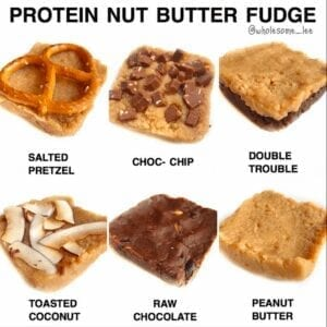 Protein Nut Butter Fudge