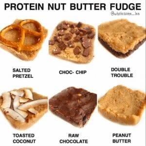 Protein Nut Butter Fudge