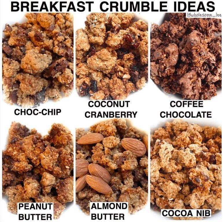 Breakfast Crumble
