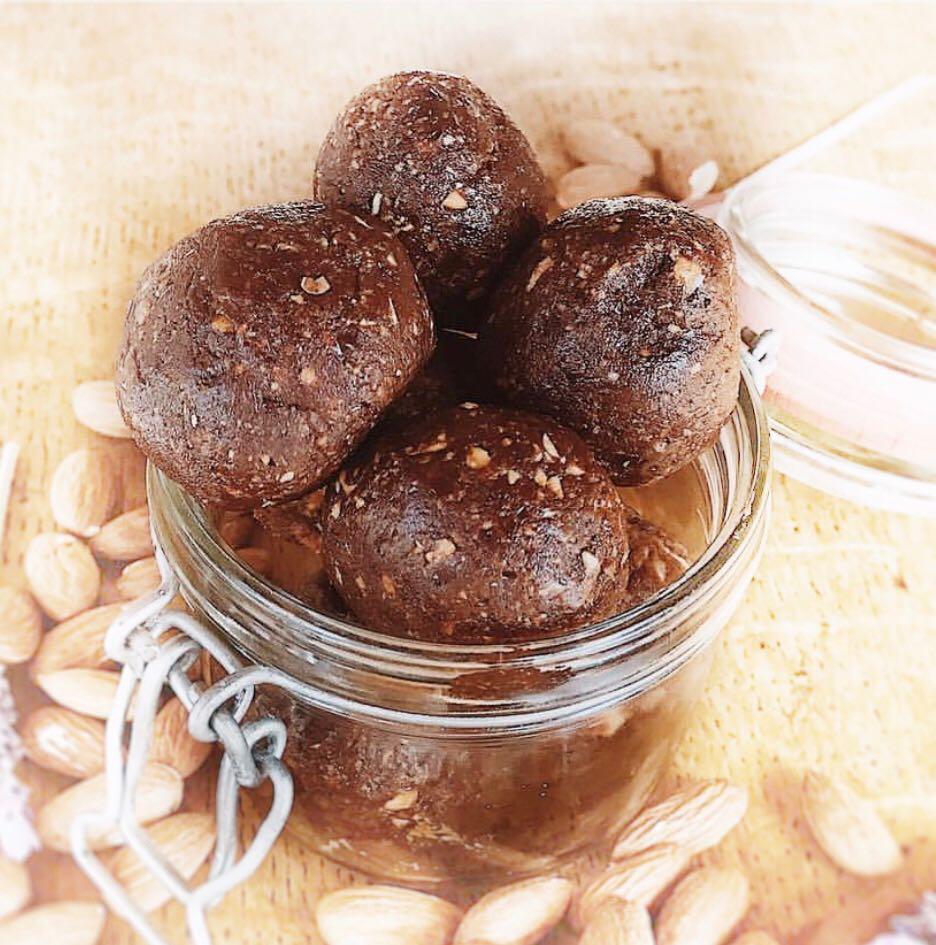 Raw Brownie Bits