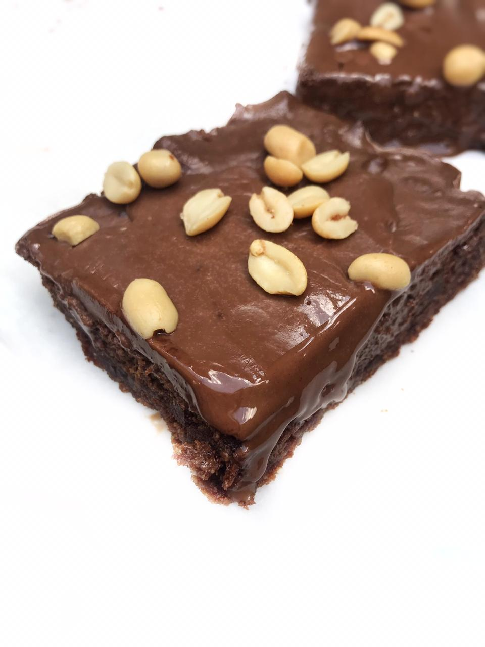 Peanut Butter Chocolate Brownies