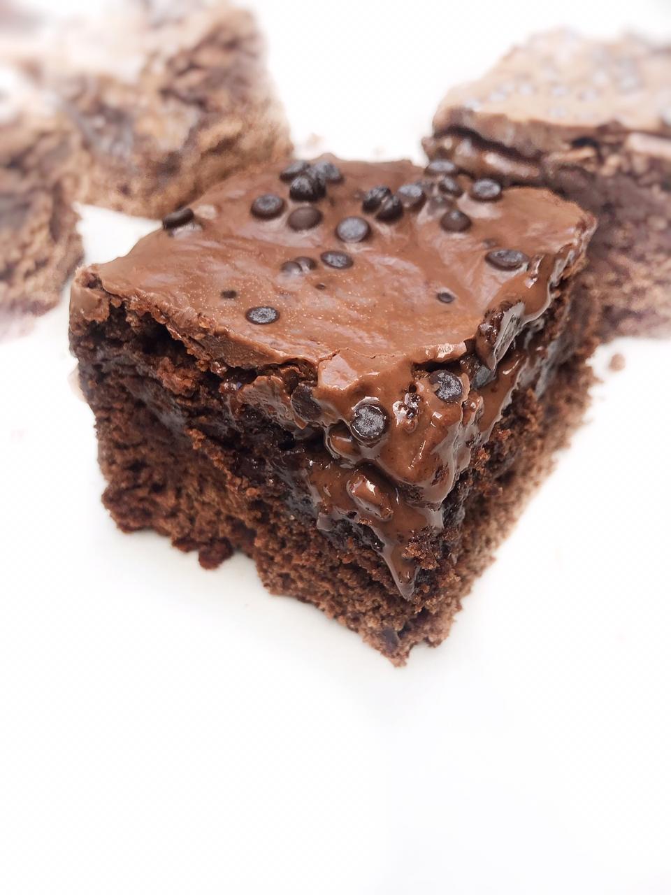 Chocolate Cake Thick Brownies