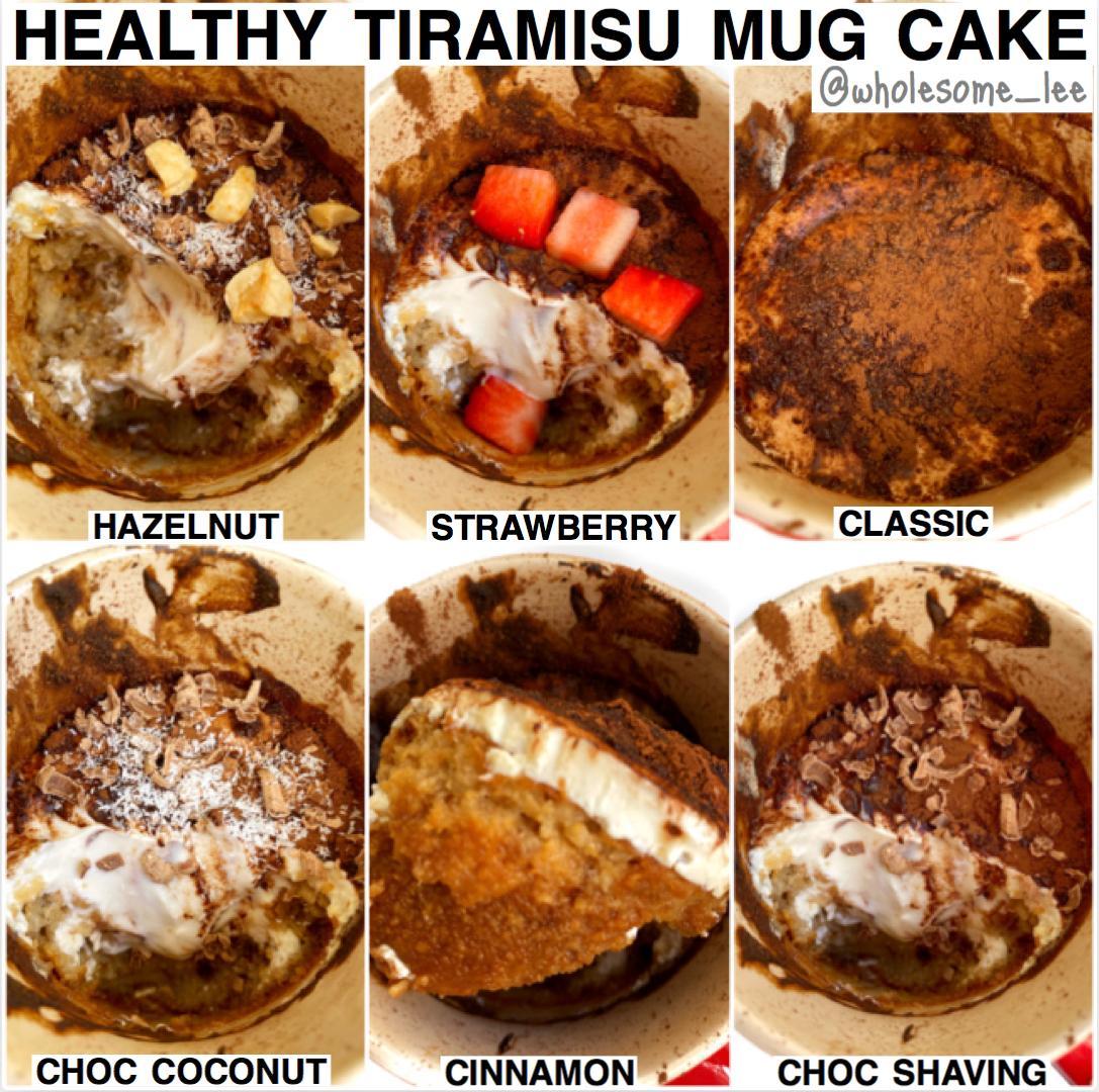 Tiramisu Mug Cake