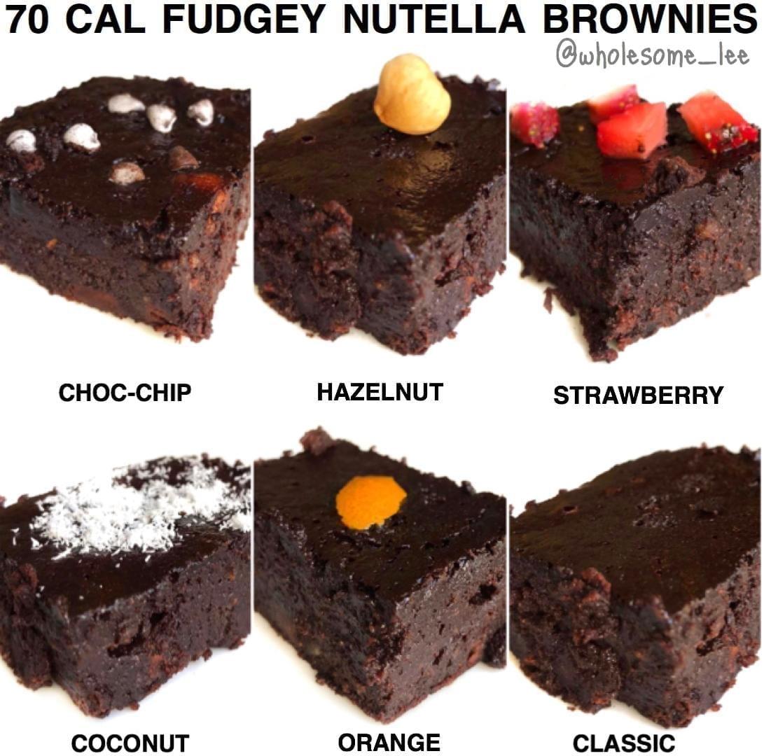 Healthy Flourless Fudgy Brownies