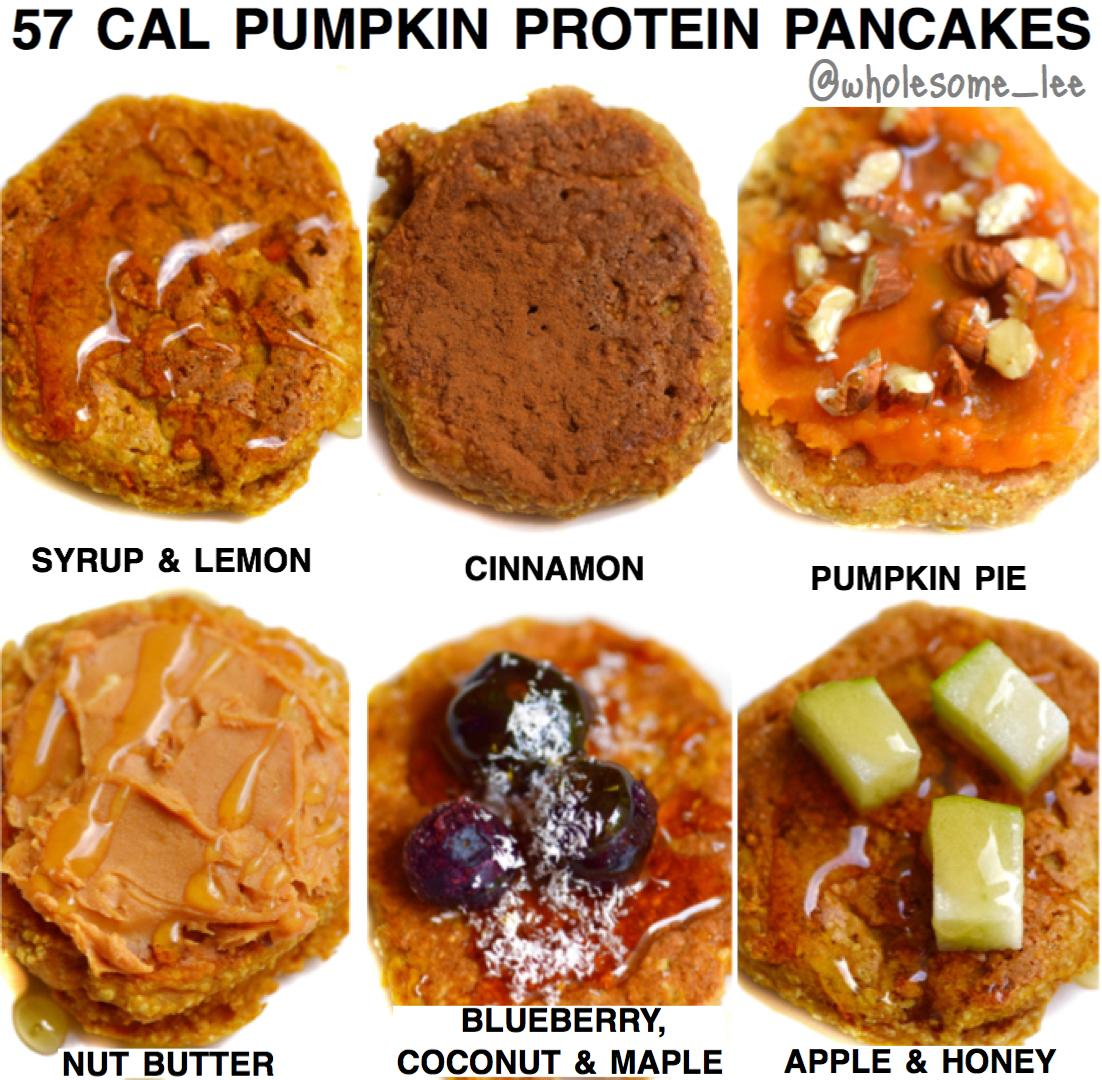 Protein Pumpkin Pancakes Recipe