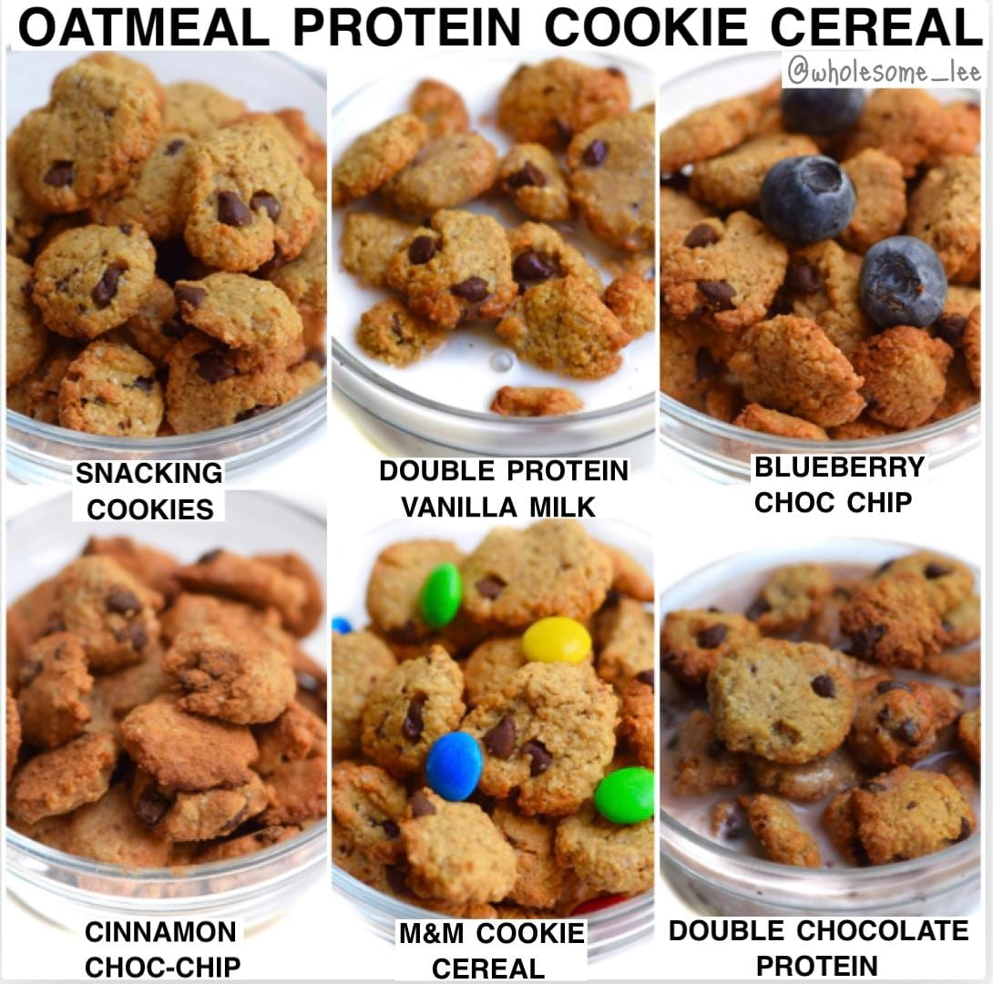 Healthy Protein Mini Cookie Cereal