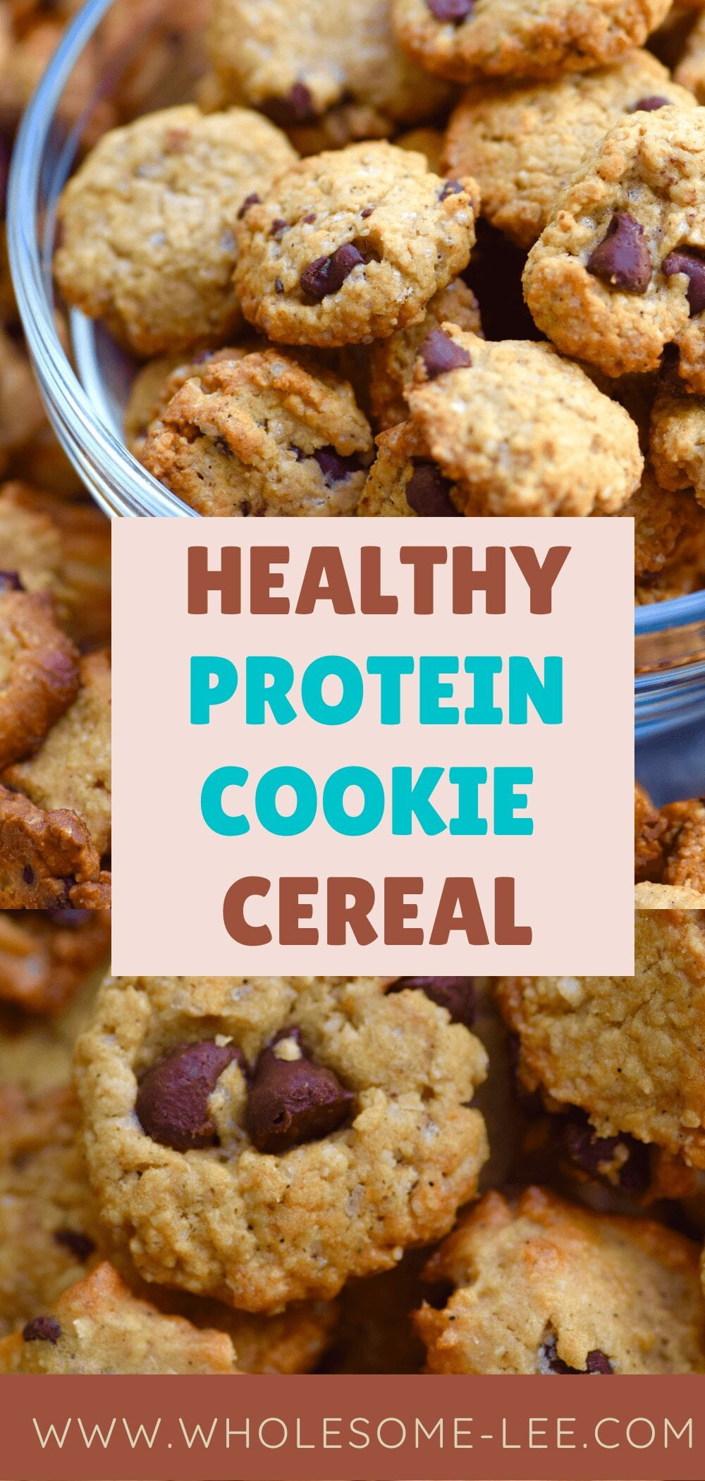 Healthy Protein Cookie Cereal