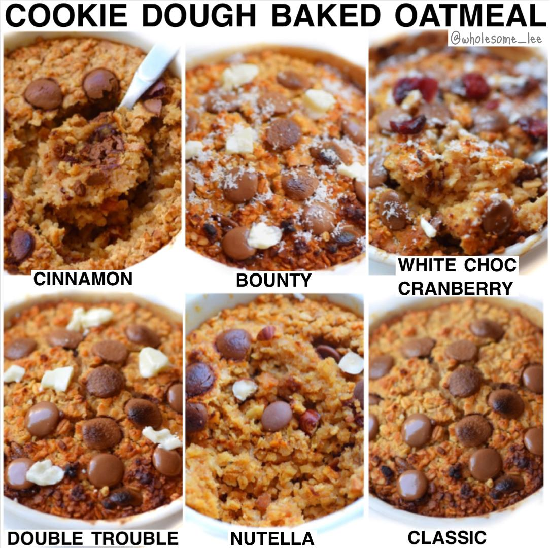 Chocolate Chip Baked Oatmeal