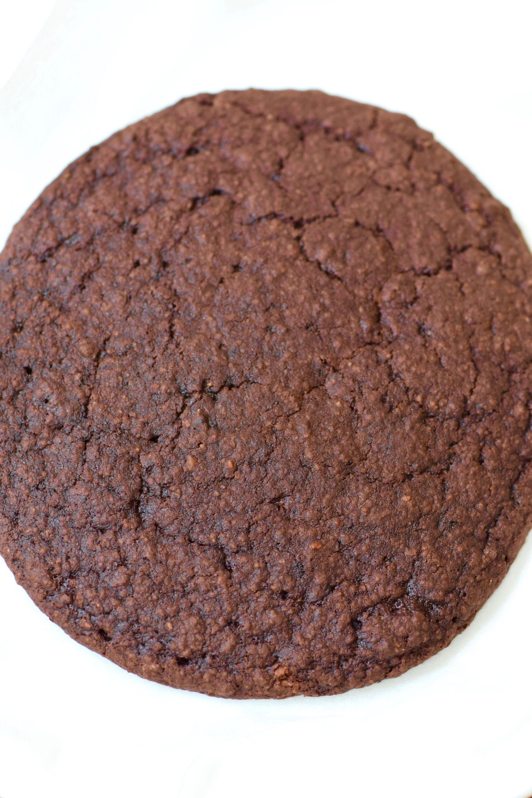 Single serving brownie cookie