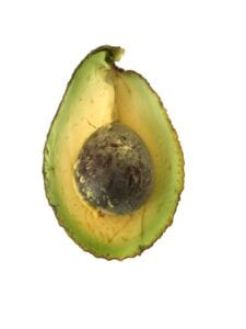Avocado healthy fat for a weight loss meal