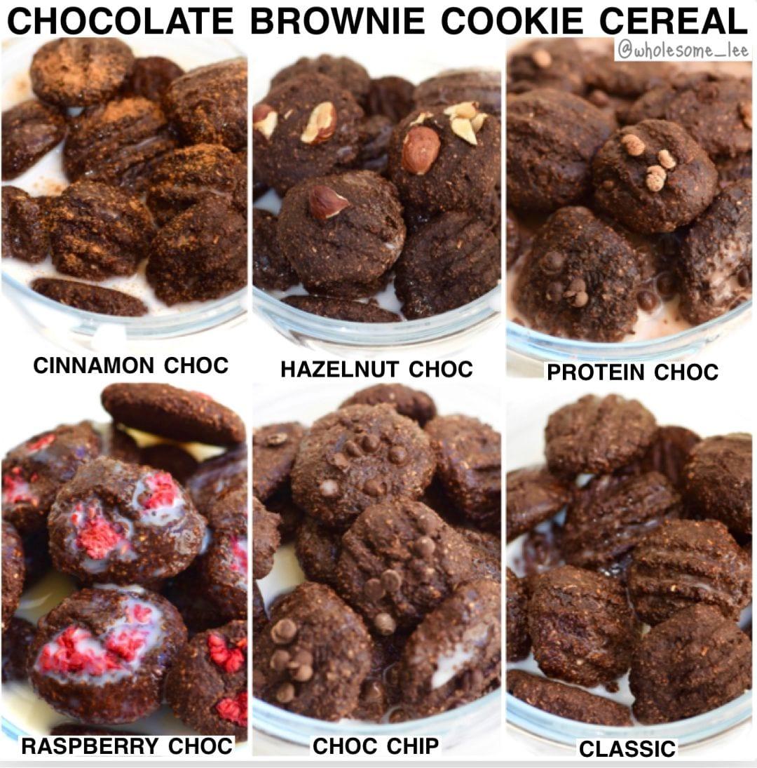 Chocolate Brownie Cookie Cereal