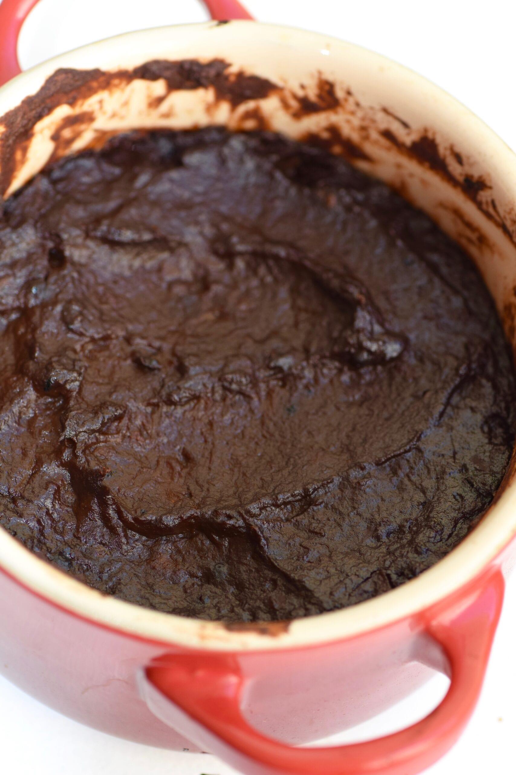 Single serving chocolate pots