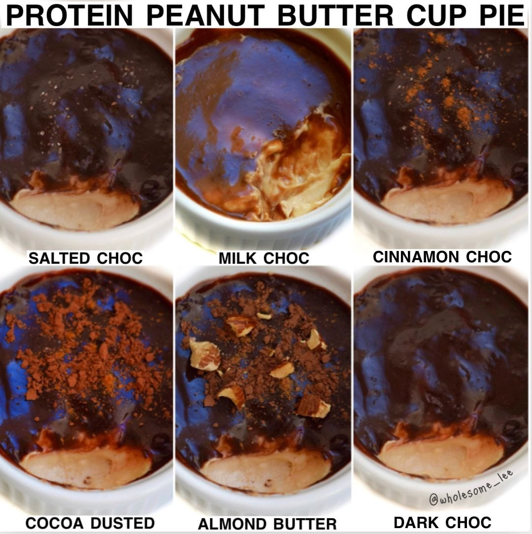 Single Serving Protein Peanut Butter Pie
