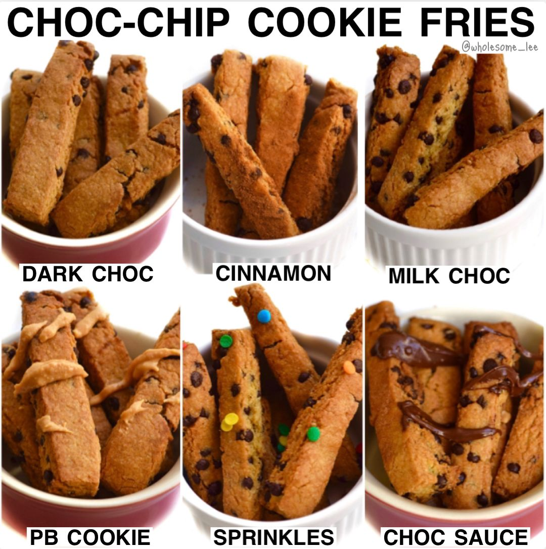 Chocolate Chip Cookie Fries