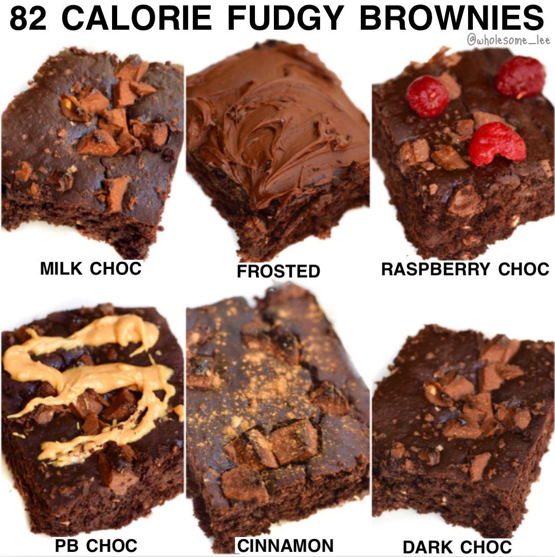 Healthy Fudgy Pumpkin Brownies