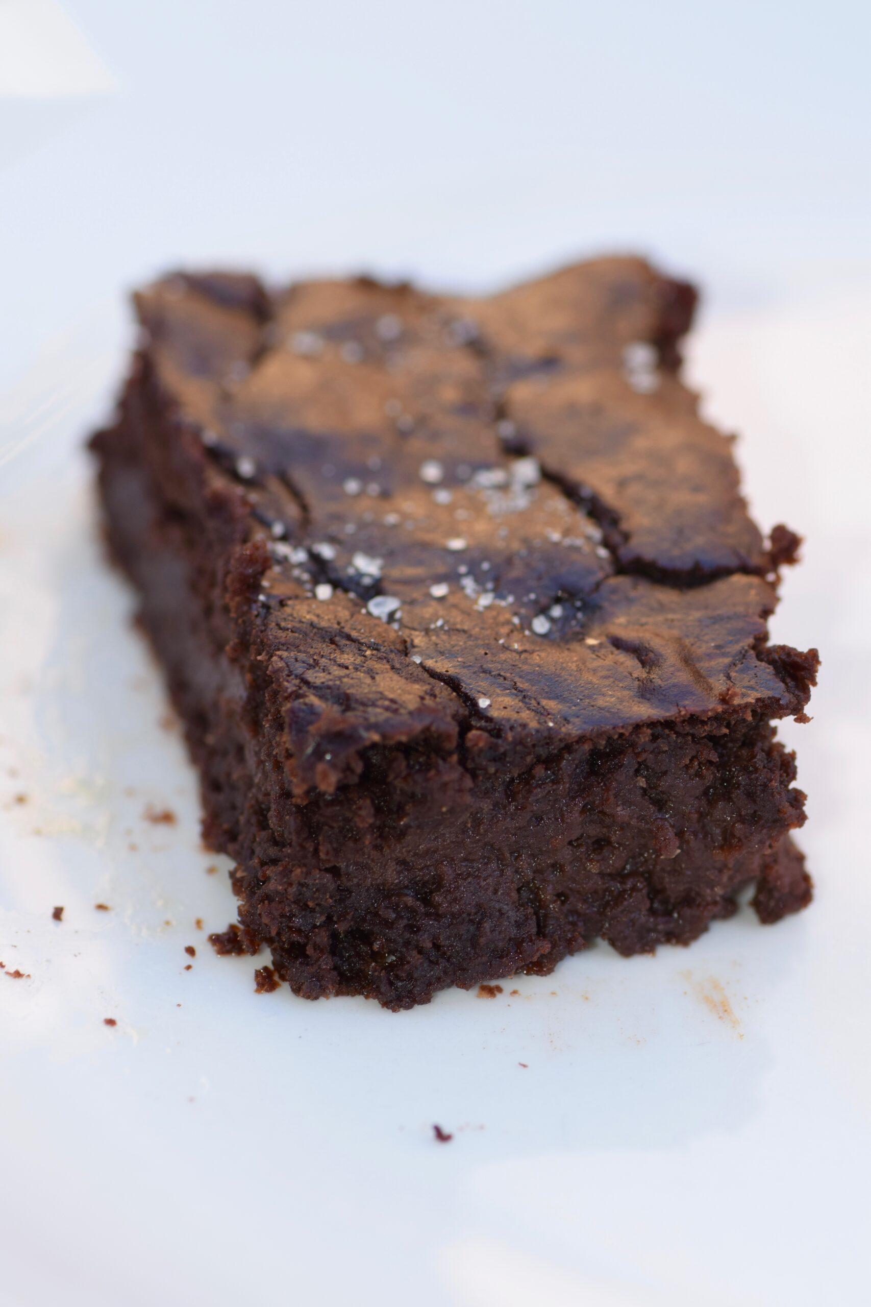Lentil Chocolate fudgy brownies