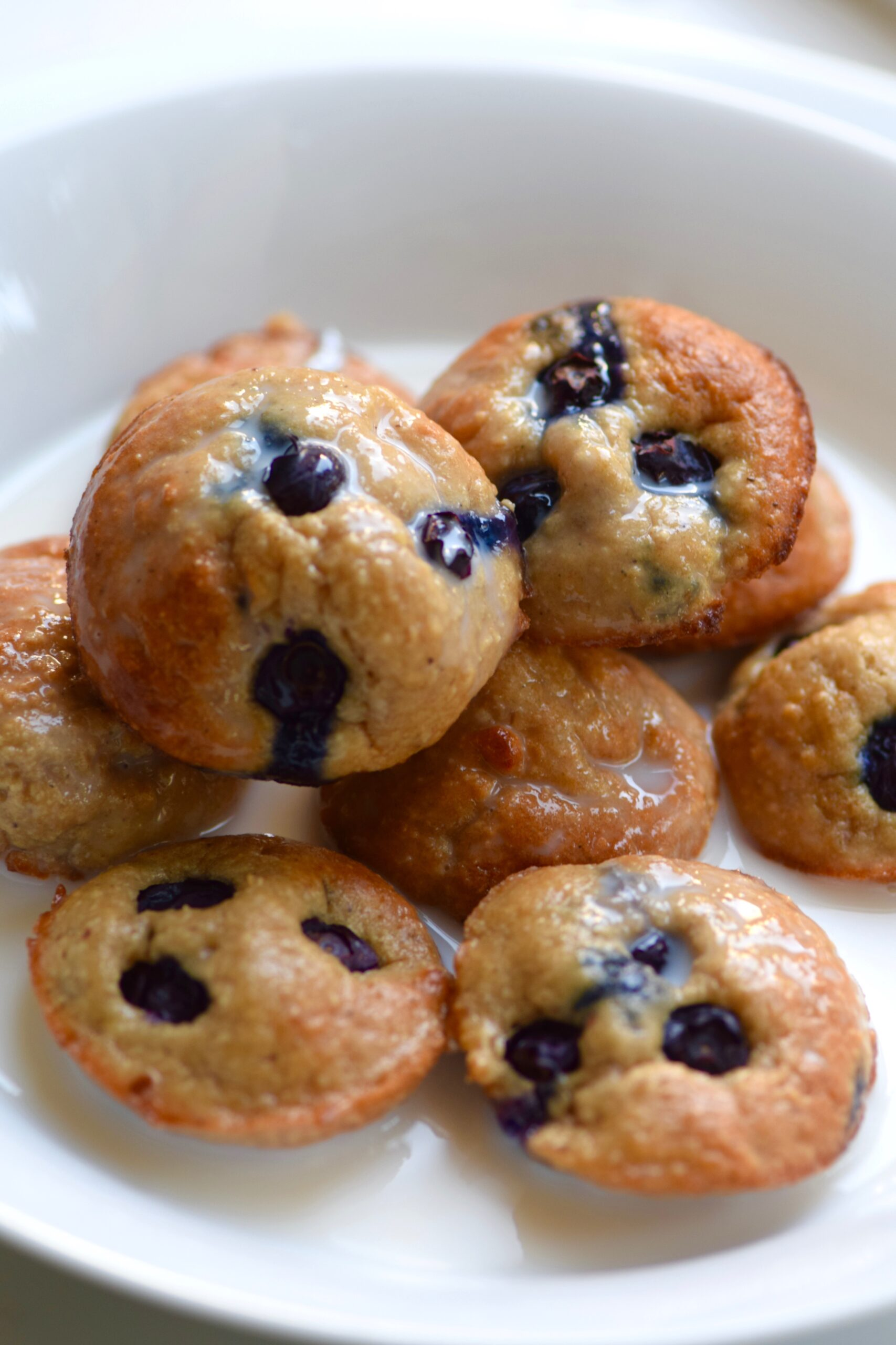 Blueberry protein muffin cereal
