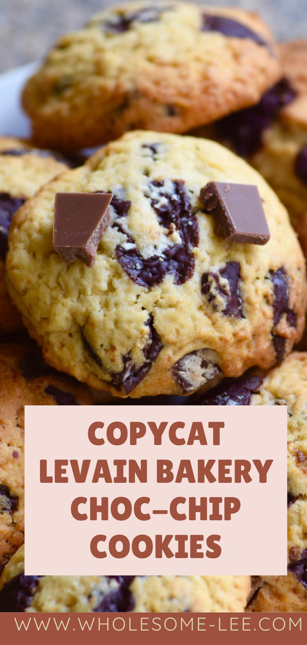 Copycat levian bakery choc-chip cookies