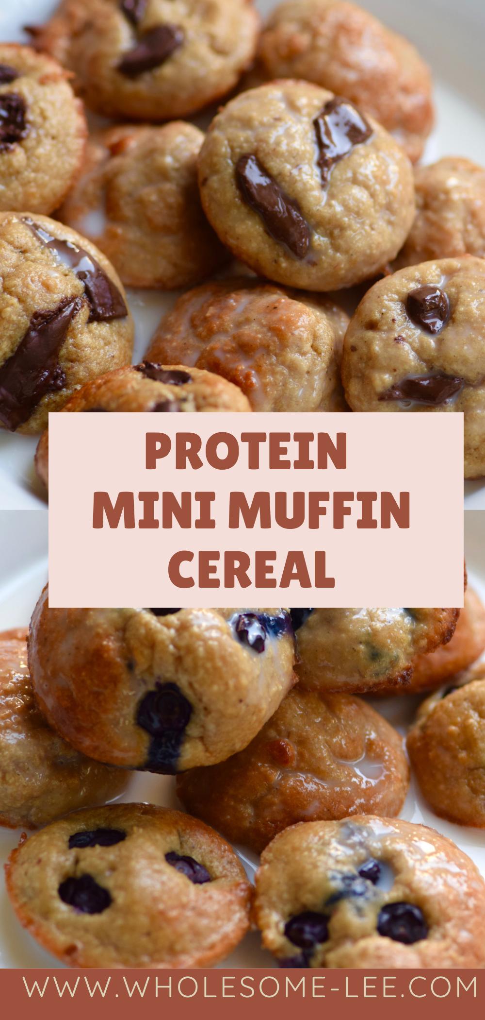protein mini muffin cereal