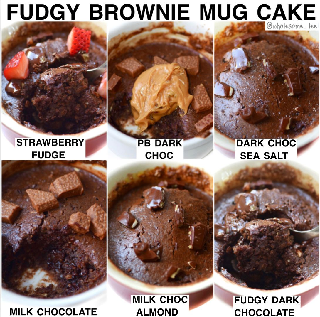 Fudgy Brownie Mug Cake