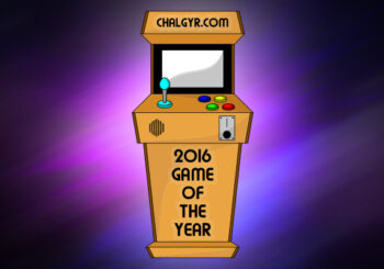Jeff's Games of the Year - 2016