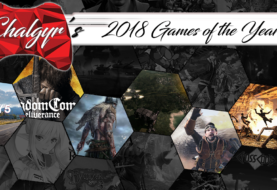 Robert's Games of the Year - 2018